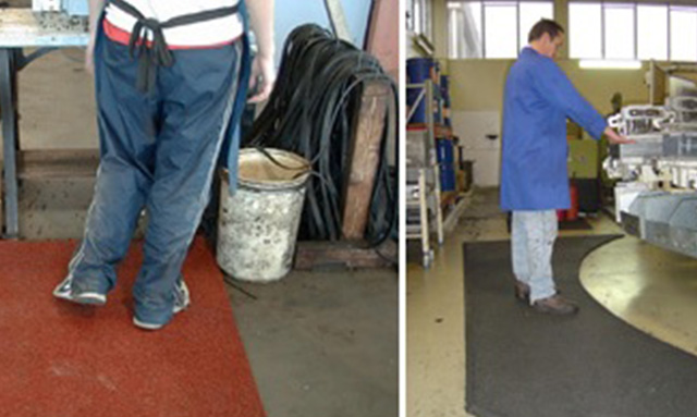 Anti-Slip Rubber Flooring